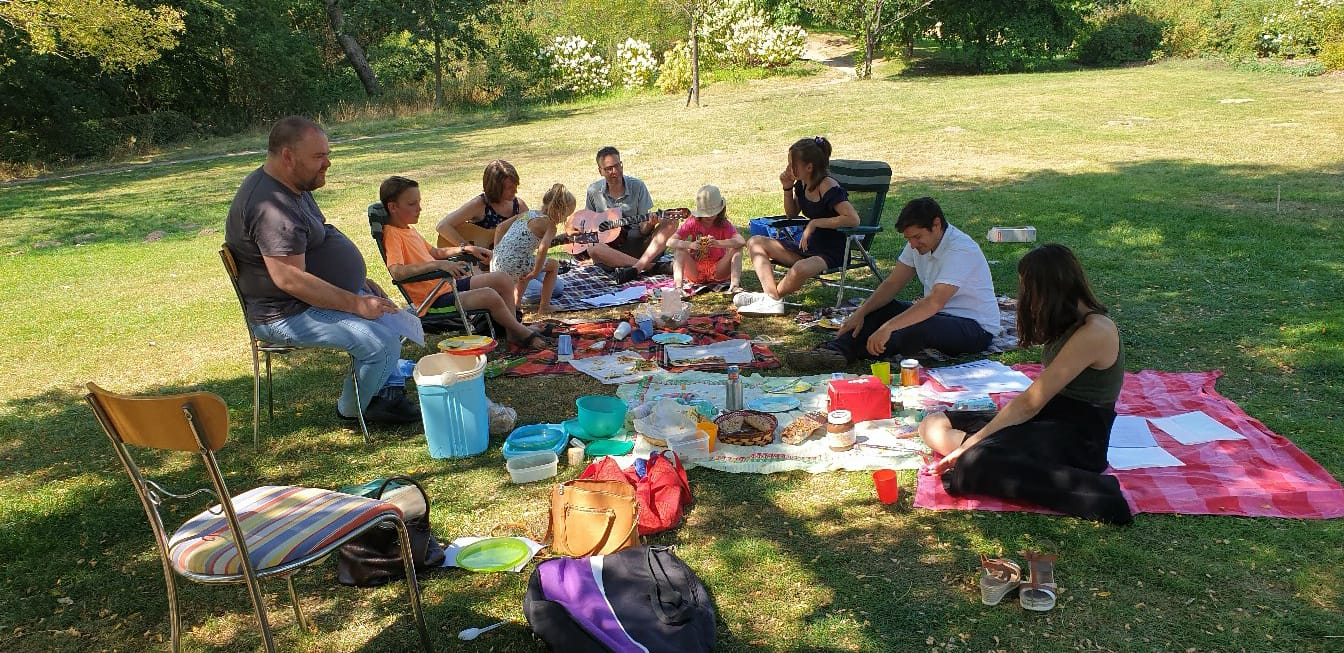 Uitnodiging voor de picknick op 11 juli